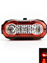 USB Rechargeable 5-LED Super Light Bicycle Rear/Tail Light Cycling Safety Warning Light
