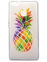 Pour IMD Transparente Motif Coque Coque Arriere Coque Fruit Flexible PUT pour Huawei Huawei P10 Huawei P9 Lite Huawei P8 Lite (2017)