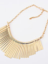 Women\'s Statement Necklaces Line Alloy Tassels Jewelry For Party Daily Casual 1pc