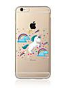 Case For  iPhone 7 7 Plus Unicorn Pattern TPU Soft Back Cover Cartoon For iPhone 6 Plus 6s Plus iPhone 5 SE 5s 5C 4s