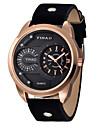 Мужской Спортивные часы Модные часы Кварцевый Кожа Группа Черный