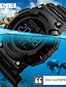 SKMEI Men\'s Sport Watch Digital Watch Japanese Digital Calendar Water Resistant / Water Proof Dual Time Zones Alarm Stopwatch Noctilucent