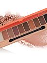 Wodwod 10 Eyeshadow Palette Pumpkin Shimmer Eyeshadow With Brush