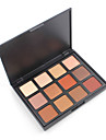 Natural Eyeshadow 12NB Palette Eye Shadow Makeup Pigment Shimmer Glitter Matte Nude Darker Earth Warm Collection Nature Glow Metallic