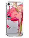 iphone 7 플러스 7 케이스 커버 패턴 다시 커버 케이스 섹시한 여자 만화 플라밍고 소프트 tpu 아이폰 6s 플러스 6 플러스 6s 5s se