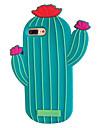 Pour Apple iphone 7 7 plus 6s 6 plus housse couverture cactus gel de gel de silice gel