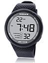 Муж. Спортивные часы Смарт-часы Цифровой Защита от влаги Фосфоресцирующий Pезина Группа Черный Синий Серый