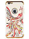 Назначение Чехлы панели Стразы С узором Задняя крышка Кейс для Животное Мягкий Термопластик для AppleiPhone 7 Plus iPhone 7 iPhone 6s