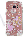 Case For Samsung Galaxy S8 Plus S8 Butterfly Pattern Acrylic Backplane and TPU Edge Materia Neck Lanyard S7 Edge S7 S6 Edge S6 S5