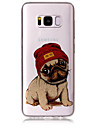 Case For Samsung Galaxy S8 Plus S8 Phone Case TPU Material IMD Process Dog Pattern HD Flash Powder Phone Case S7 Edge S7 S6 Edge S6