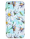 애플 아이폰 7 플러스 / 7 커버 패턴 다시 커버 케이스에 대 한 꽃 꽃 하드 pc 아이폰 6s 플러스 / 6 플러스 / 6s / e 6