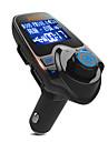 Carro T11 V3.0 wifi para carro Maos livres do carro Controle de som Luz LED USB Port Player MP3