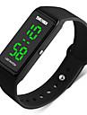 SKMEI® 1265  Men\'s Woman Watch Led Luminous Electronic Watch/One-Button Operation/Date Display/Movement Dozens 30 Meters Waterproof
