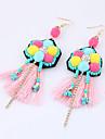 Women\'s Drop Earrings Rhinestone Tassel Bohemian Euramerican Fashion Alloy Jewelry For Daily