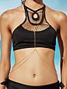 Mulheres Bijuteria de Corpo Corrente de Barriga Colar harness Cadeia corpo / Cadeia de barrigaOriginal Moda Bijuterias Destaque Sexy