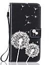 애플 아이폰 7 7 플러스 커버 카드 홀더 지갑 라인 석 스탠드 플립 패턴 전신 케이스 민들레 하드 pu 가죽 6 6plus 5s