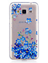Case For Samsung Galaxy J3 J3 (2016) Case Cover Orchid Pattern Painted High Penetration TPU Material IMD Process Soft Case Phone Case J5 (2016)