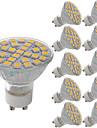 10pcs 29LED 5W LED MR16(GU5.3)/GU10/E27 Light Spot Lamp Warm/Cool White Energy Saving Spotlight 29 SMD 5050 LED Bulbs AC220-240V