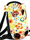 Cat Dog Carrier & Travel Backpack Front Backpack Pet Baskets Flower Portable Cute Rainbow