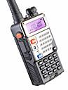 5w 128ch de radio de duas vias walkie talkie baofeng uv-5re para cacar exibicao dupla fm vox uhf vhf estacao de radio cb radio