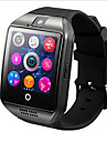 q18 smartwatch telefone mtk6261 2.5d tela bluetooth 3.0 nfc built-in camera funcoes de saude musica anti-perdido
