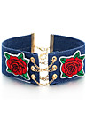 Women\'s Choker Necklaces Flower Alloy Hip-Hop Floral Jewelry For Casual Date