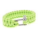 Para-Cord Überlebens-Armband mit Schnalle Eisen Anschluss A (3 Farben)