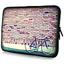 USD $ 9,45 - Wasserdichte Laptop Schutzhülle mit Fahrrad Muster