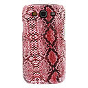 Sound Hung Series High-End Snakeskin Grain Hard Case for Samsung Galaxy S3 I9300(Assorted Colors)