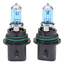 9007 Super White Car Light Bulbs 100/80W (2-Pack/DC 12V)