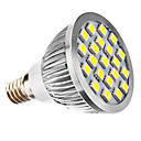 E14 3W 21 SMD 5050 240 LM Natural White MR16 LED Spotlight AC 220-240 / AC 110-130 V