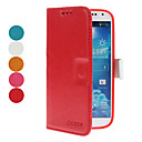 Minimalist Solid Color PU Leather Full Body Case for Samsung Galaxy S4 I9500 (Assorted Colors)