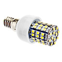 4W E14 LED Corn Lights T 60 SMD 3528 270 lm Natural White AC 220-240 V