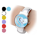 Women's Heart Shape Dial Steel Band Quartz Analog Bracelet Watch (Assorted Colors) Cool Watches Unique Watches