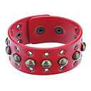 Z&X®  Rivets Leather Bracelet