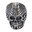 Ancient Skull Men'S Retro Silver Ring
