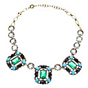 High-end Luxury Luxuriant Green Diamond Necklace
