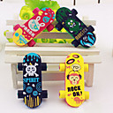 Skateboard Shaped Eraser(2 PCS)