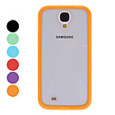 For Samsung Galaxy Case Transparent Case Back Cover Case Solid Color PC Samsung S4