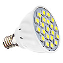3W E14 LED Spotlight MR16 21 SMD 5050 240 lm Natural White AC 110-130 / AC 220-240 V