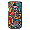 Retro Style Flower Pattern Aluminum Hard Case for Samsung Galaxy S4 mini I9190