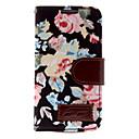 Cotton Prints pu Leather Full Body Case for Samsung Galaxy S4 Mini I9190