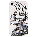 Punk Machine Skull Back Case for iPhone 4/4S