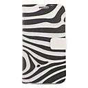 Zebra Stripe Рисование Pattern искусственной кожи Жесткие пластиковые крышки Пакеты для Samsung Galaxy Примечание 2 N7100