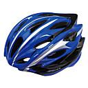Спорт на открытом воздухе Классический ПК и EPS Материалы Велосипедные шлемы (24 Vents, BlueSilver)