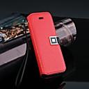 Роскошные шаблон кошелек кожаный чехол для iPhone 5 / 5S (разных цветов)