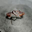 Малый Сердце Rhinestone кольца