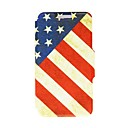 Kinston Nostalgic USA Pattern PU Leather Full Body Case with Stand for LG G2