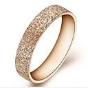 Г-жа Мода Pure стальные мелющие розовое золото титана стальное кольцо