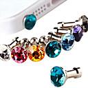 Joyland Diamant-Anti-Staub-Kopfhöreranschluss (gelegentliche Farbe)